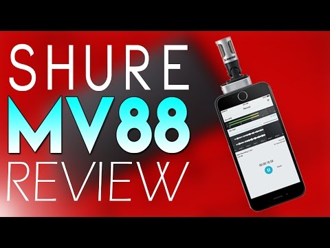 Shure MV88 iOS Digital Stereo Condenser Microphone Review