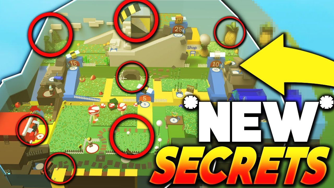 *ALL NEW UNKNOWN SECRETS AND LOCATIONS!!* - Roblox Bee ...
