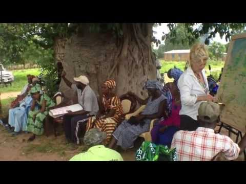 A Seed Savers Gathering in a village in Senegal, Africa