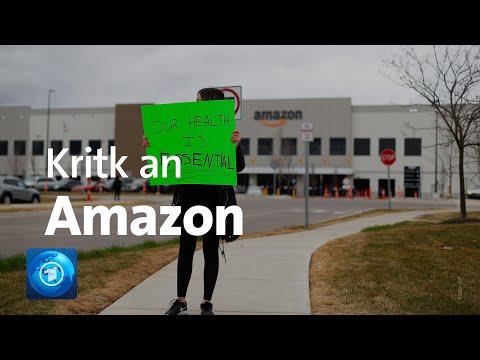 Coronavirus: Amazon-Mitarbeiter In Den USA Fordern Mehr Schutz
