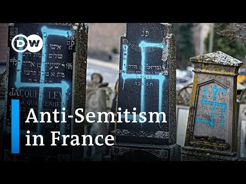 Anti-Semitic crimes in France spark wave of solidarity with jews | DW News