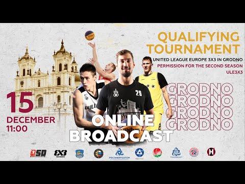 LIVE - United League Europe 3x3 - Grodno Tour