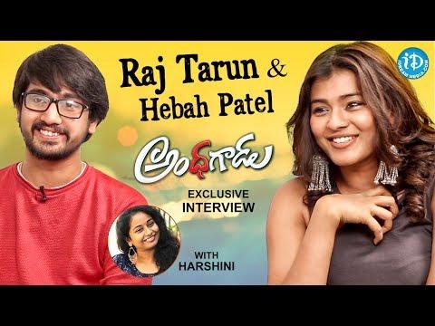 Raj Tarun & Hebah Patel Exclusive Interview || #Andhhagadu || Talking Movies With iDream #404