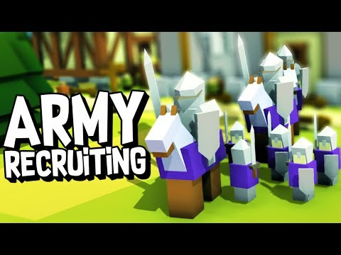 BUILDING AN ARMY! - Kingdoms and Castles Gameplay Ep #4 (NEW UPDATE)