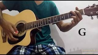 Tere Bin (Atif Aslam) - Guitar Chords Lesson+Cover, Strumming Pattern, Progressions