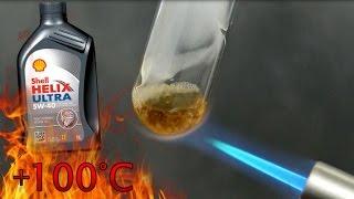 видео Тест моторного масла Shell Helix Ultra