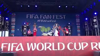 Fifa Fan Festival Saint Petersburg football world cup Russia 2018