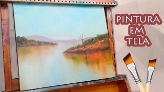 VÍDEO AULA - Pintura óleo sobre tela para iniciantes 02/03