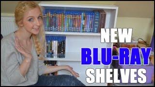 NEW BLU-RAY SHELVES!