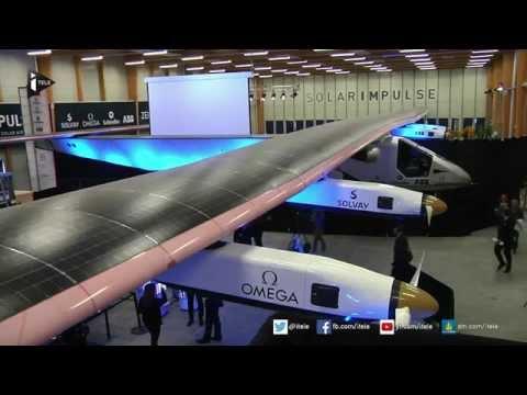 Tour du monde à bord d'un avion à énergie solaire