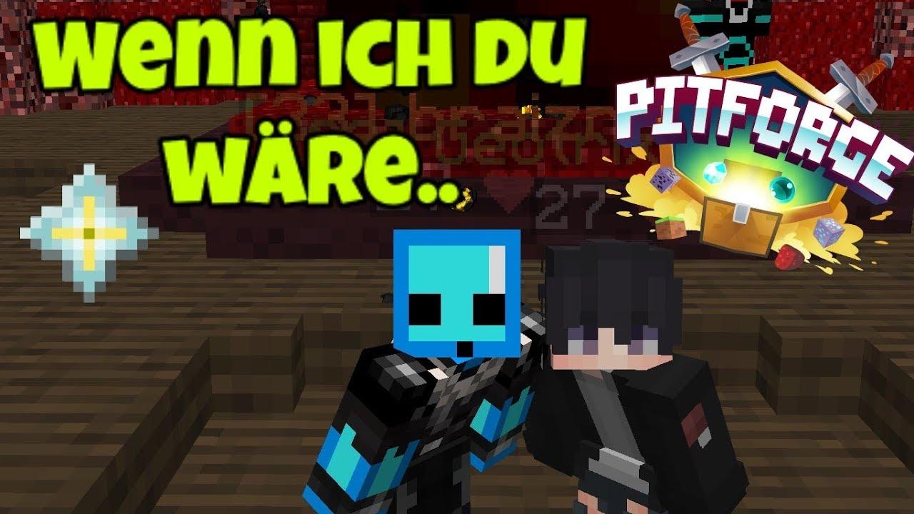 Wir Spielen Wenn Ich DU Wäre In Der Warzone Pitforge - Minecraft factions spielen
