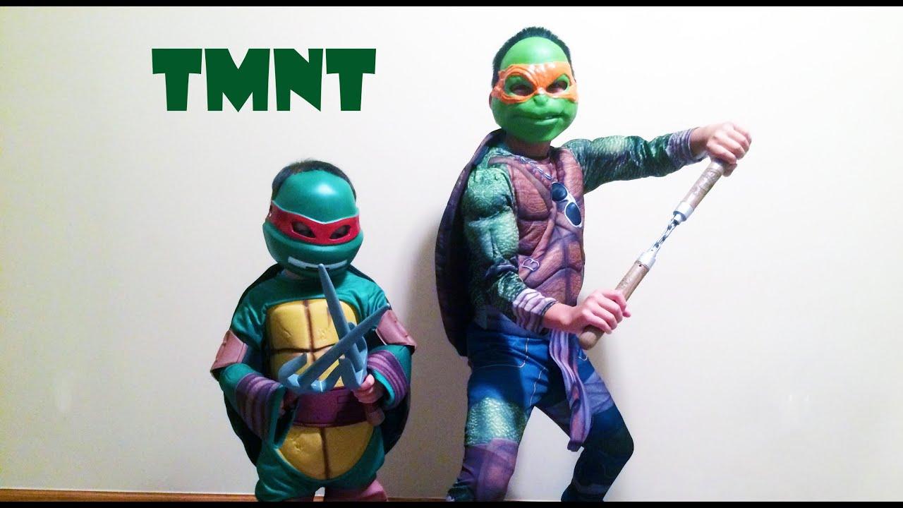 Kids Raphael Teenage Mutant Ninja Turtles Costume & Kids Raphael Teenage Mutant Ninja Turtles Costume - YouTube
