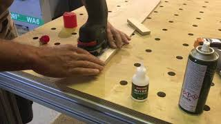 12v Bosch Router   -  Simple Circle cutting Jig
