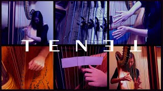 """I recreate """"Tenet"""" soundtrack with a Harp and Paper?"""