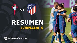 Resumen de RC Celta vs Atlético de Madrid (0-2)