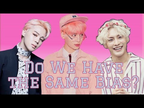 Do We Have The Same Bias? : My Boy Group Stan List + Biases And Bias Wreckers