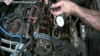 Replacing the timing belt on an Alfa TwinSpark 16v (6/8)