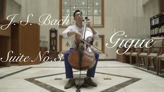 Bach cello suite No.3 Gigue