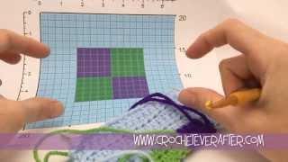 Half Double Crochet Intarsia Tutorial