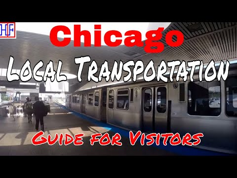 Chicago Local Transportation Guide - Getting Around (TRAVEL GUIDE) | Episode# 2