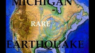 5/02/2015-- Very RARE 4.2 magnitude earthquake strikes South Michigan -- MAJOR UNREST