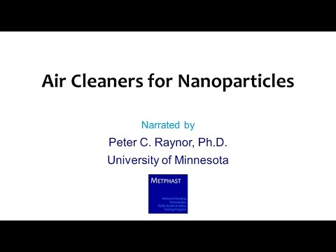 Module 17: Air Cleaners for Nanoparticles