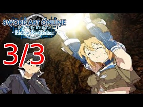 Let`s play Sword Art Online Hollow Realization Part 3/3 Tuner of causality