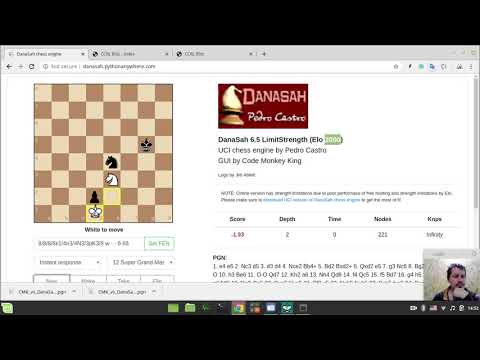 Danasah Chess Engine By Pedro Castro (development Version) With GUI By Code Monkey King