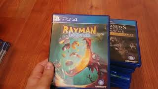 My PS4 Physical Game Collection (June 2018)