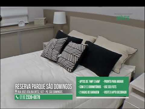 Reserva Parque São Domingos na Mega TV (vídeo 2)