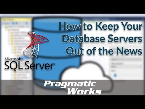 How to Keep Your Database Servers Out of the News