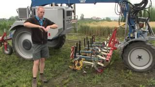 Механический контроль сорняков в производстве овощной продукции