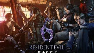 LIVESTREAM: Resident Evil 6 - Gameplay Walkthrough Part 7 w/ @PS360HD2 [1080p 60FPS HD]