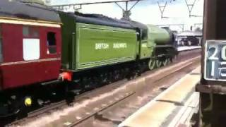 Tornado train at Shenfield station
