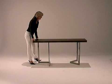 Tavoli Pieghevoli Allungabili Configurazione Variabile.Arredamento Tavolo Consolle Pieghevole E Allungabile Consolle Www