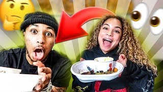 I found out DDG's New CRUSH?! **Mukbang**