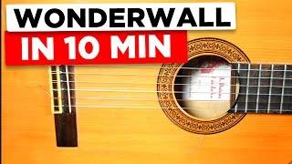 Gitarre lernen für Anfänger - Wonderwall - einfach erklärt
