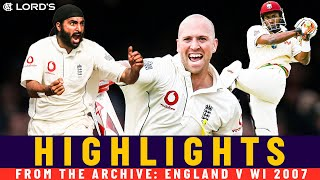 Prior's Debut Ton, Monty 6-fer & Bravo Showcase! | Classic Match | England vs Windies 2007 | Lord's