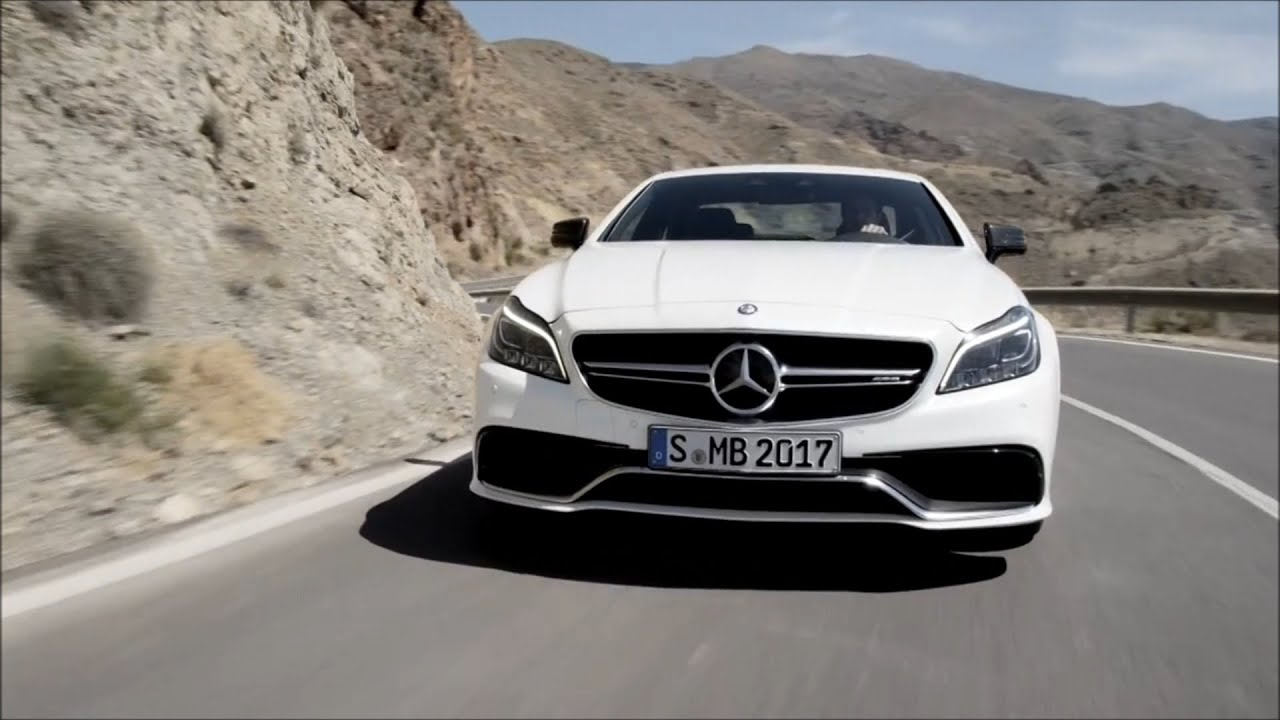 mercedes benz 2015 cls 63 amg coup road and interior trailer youtube