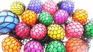 Воздушные шарики в сетке. Как это устроено? Обучающие и развивающие мультики, обзоры детских игрушек