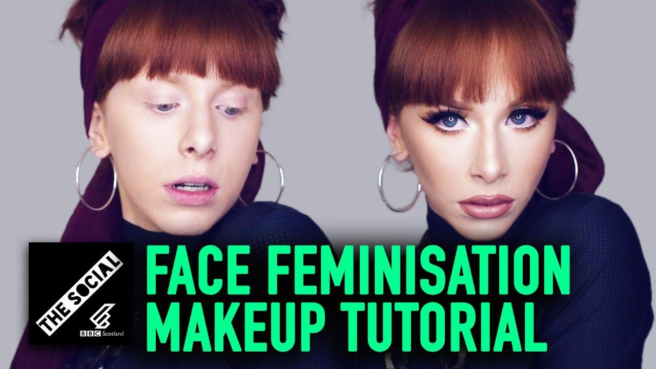 Face Feminisation Makeup Tutorial You