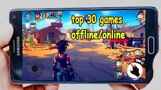Top 30 Best Offline & online  Games For Android & iOS in 2018 #3