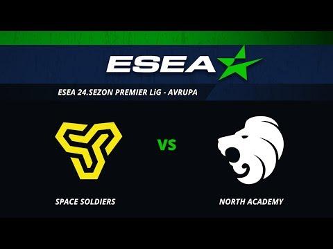 CS:GO - Space Soldiers vs North Academy I BO1 - ESEA Premier Season 25 Europe