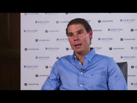 Rafael Nadal Interview at the Cosentino event in London,  8 Nov 2017