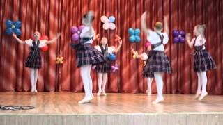 Шотландский танец(Выступление на студенческой весне в Колледже отраслевых технологий 16.03.16., 2016-03-16T16:17:27.000Z)