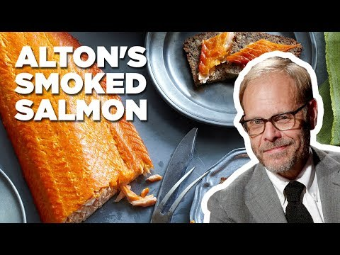 Alton Brown Makes Smoked Salmon | Food Network