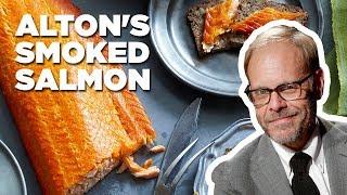 Alton Brown Makes Smoked Salmon | Good Eats | Food Network
