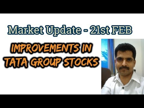 Stock Market Update - TATA GROUP STOCKS for LONG TERM -21st FEB