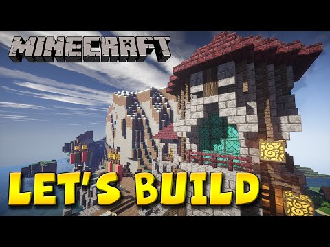 Minecraft Let's Build - Naval Sea Port 1