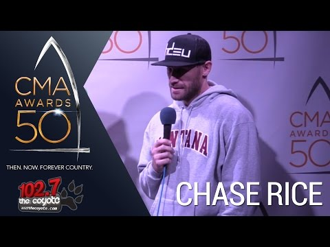 CMA Awards 50: Chase Rice on his upcoming 2017 album and his international shows